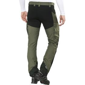 Lundhags Makke - Pantalones Hombre - regular negro/Oliva
